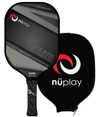 Nüplay nüLITE paddle with cover