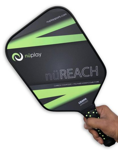 nüREACH paddle in hand