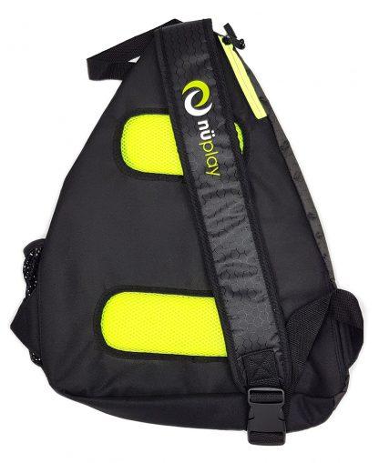 Sling bag with holding hook - back - fits 5 paddles