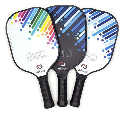 3 fanned ÜNO paddles